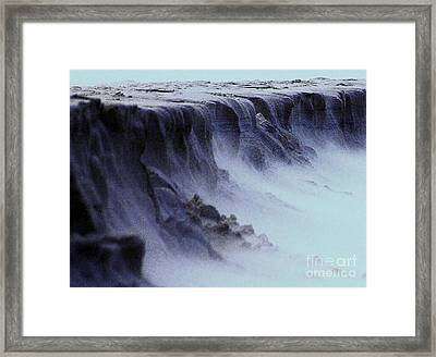 Alien Landscape The Aftermath Part 2 Framed Print by Blair Stuart