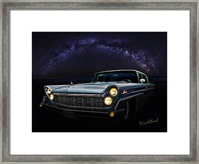 Alien Lincoln Roswell Saturday Night Framed Print