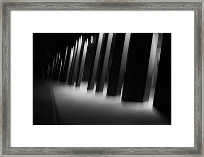 Framed Print featuring the photograph Alien Medical Research Center by Alex Lapidus