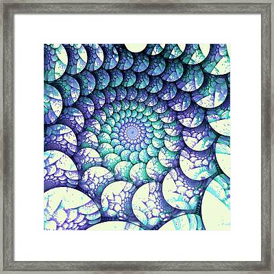 Alien Nest Framed Print
