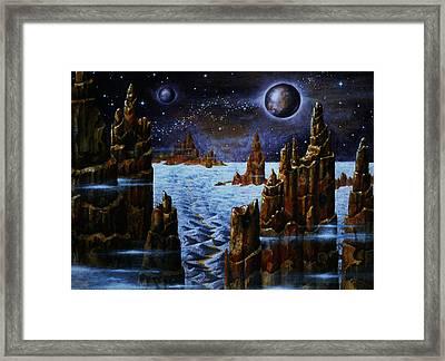 Ice Planet  Framed Print
