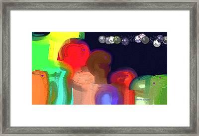 Alien Observations Framed Print by Lenore Senior