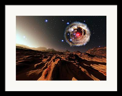 V838 Monocerotis Framed Prints