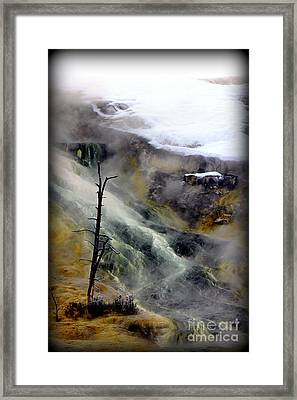 Alien Planet Framed Print