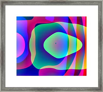Alien Pod Person Framed Print by Charles Ragsdale
