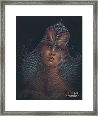 Alien Portrait Il Framed Print