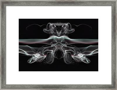 Alien Rider Framed Print