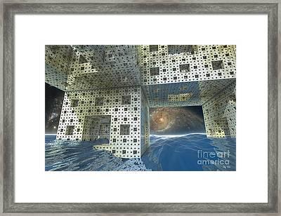 Alien Sea By Kc Framed Print by R Muirhead Art