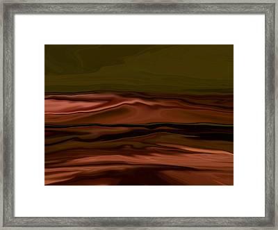 Alien Sea Framed Print by Tim Stringer