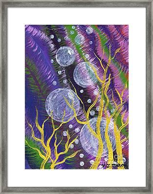 Alien Sea Framed Print by Vicki Maheu