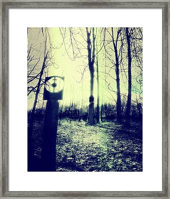 Alien Sky 1 Framed Print by Gothicrow Images