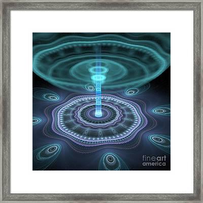 Alien Station Framed Print