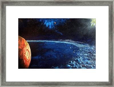 Alien Storm Framed Print by Murphy Elliott