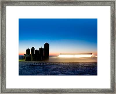 Alien Twilight Framed Print