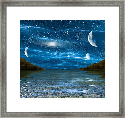 Alien Waterscape Framed Print by Brian Wallace
