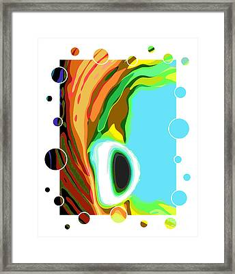 Alien World   Framed Print by Scott Cameron