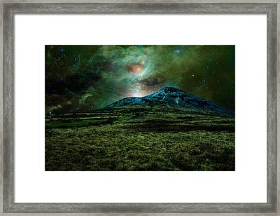 Alien World Framed Print by Semmick Photo