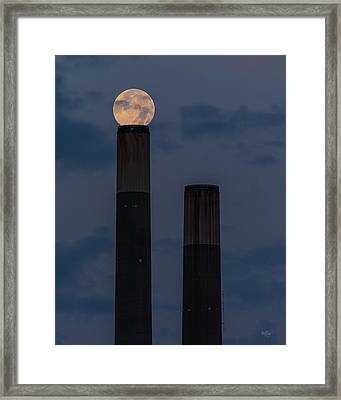 Aligning Worlds Framed Print by Everet Regal
