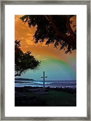 Alii Cross Framed Print