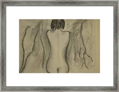 Aline Framed Print by Daniele Fedi