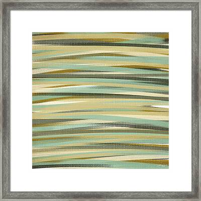Alive And Green Framed Print