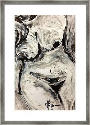 Alive Framed Print by Helen Syron