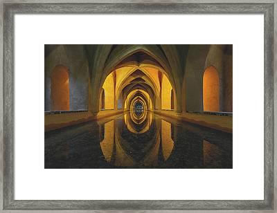 Aljibe Framed Print