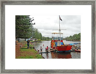 Framed Print featuring the photograph All Aboard by Ankya Klay