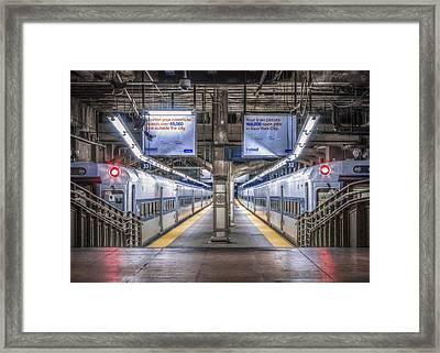 All Aboard Framed Print by Eduard Moldoveanu