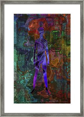 All Aboard Framed Print by Jack Zulli
