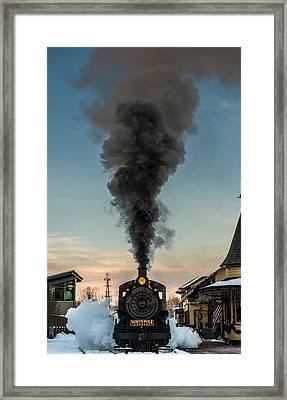 All Aboard Framed Print by Scott Hafer