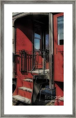 All Aboard Framed Print by Skip Willits