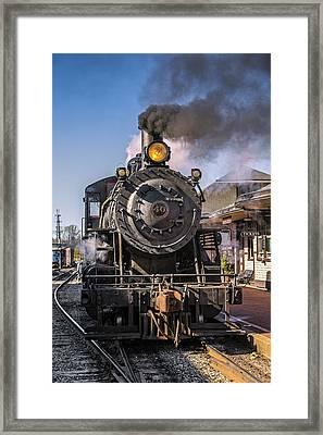 All Aboard  Framed Print by Susan Candelario