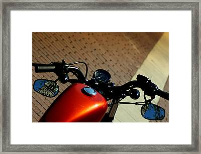 All About The Ride Framed Print