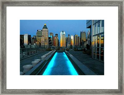 All About The View Framed Print by Diana Angstadt