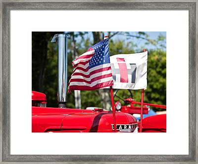 All American Framed Print by Bill Wakeley