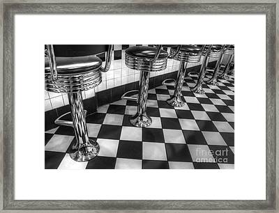 All American Diner Framed Print by Bob Christopher
