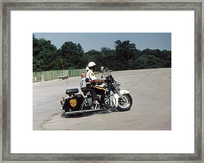 All American Framed Print by Terence Fellows