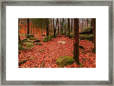 All Are Fallen None Are Lost Framed Print by Jeremy Farnsworth