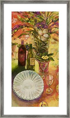 All Are Gathered Framed Print by Jen Norton