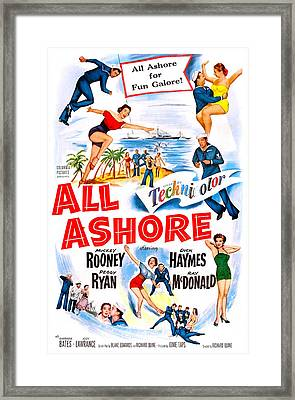All Ashore, Us Poster, Top Right Mickey Framed Print