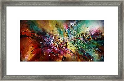 'all At Once' Framed Print by Michael Lang
