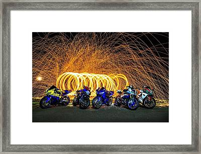 All Awirl Framed Print by Lawrence Christopher