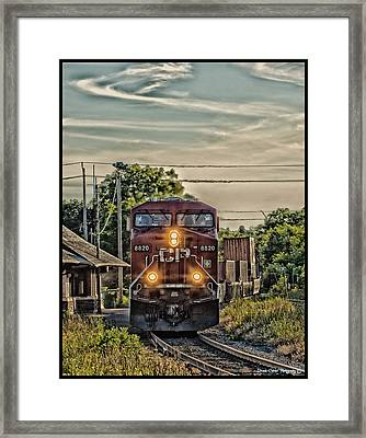 All Board  Framed Print