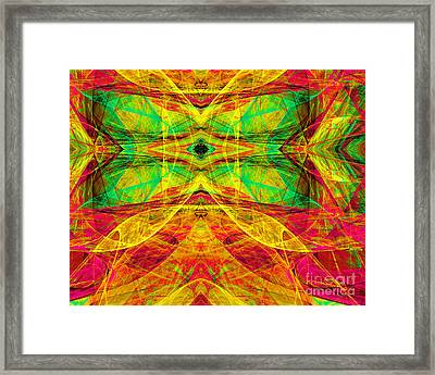 All Butterflies Live In Heaven 20140828 Horizontal Framed Print
