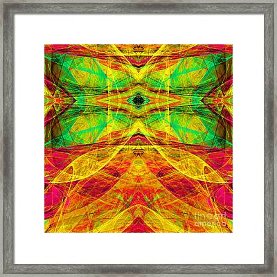 All Butterflies Live In Heaven 20140828 Square 3 Framed Print