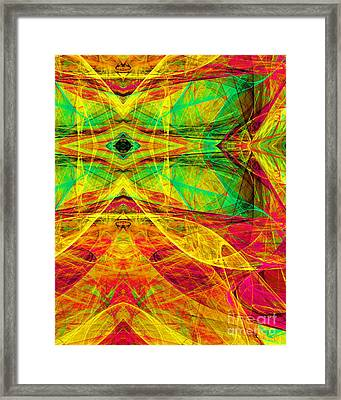 All Butterflies Live In Heaven 20140828 Vertical Framed Print