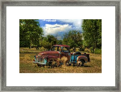All By Myself Framed Print by Ken Smith