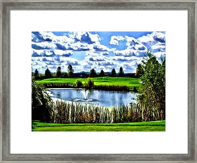 Framed Print featuring the photograph All Carry by Dennis Lundell