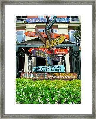 All Charlottes Framed Print